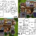 Sims Mansion Floor Plan Houses Furthermore
