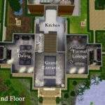 Sims Mansion Floor Plan Mod President