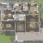 Sims Mansion Floor Plans