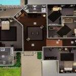 Sims Modern Mansion Floor Plans Mod Woodlawn Estate