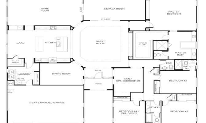 Single Story Bedroom House Floor Plans Our Two