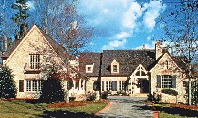 Six Bedroom French Country
