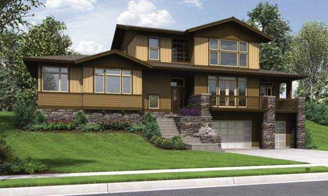 Sloping Lot House Plans Look Home Designs
