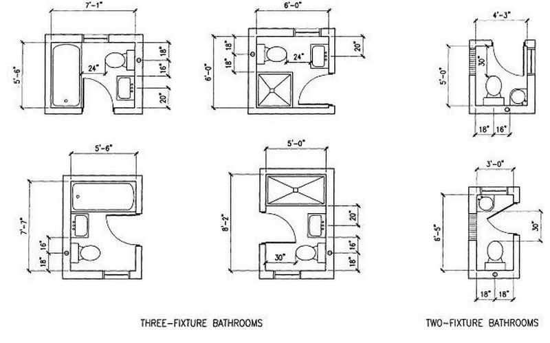 Small Bathroom Design Plans Floor