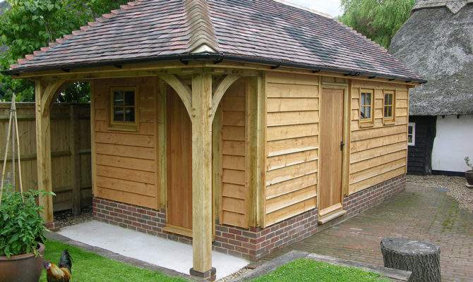 Small Buildings Garden Rooms Brookwood Oak Barns