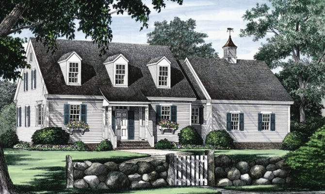 Small Cape Cod Style House Plans Home Deco