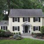 Small Centre Call Colonial Home Pinterest