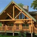 Small Chalet Designs Log Cabin Home