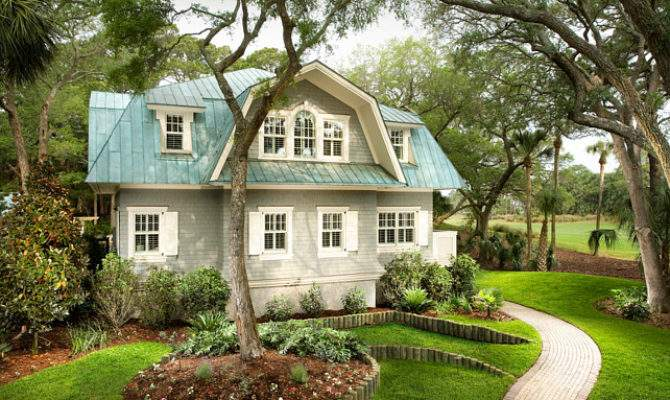 Small Cottage Turquoise Interiors Home Bunch