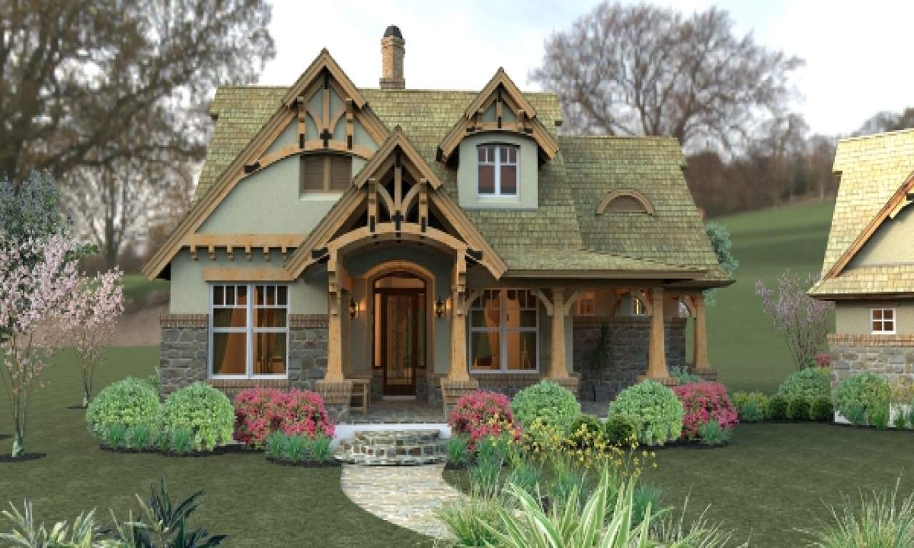 Small Craftsman Cottage House Plans California