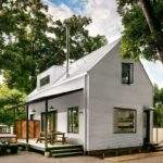 Small Energy Efficient Farmhouse Austin Designed