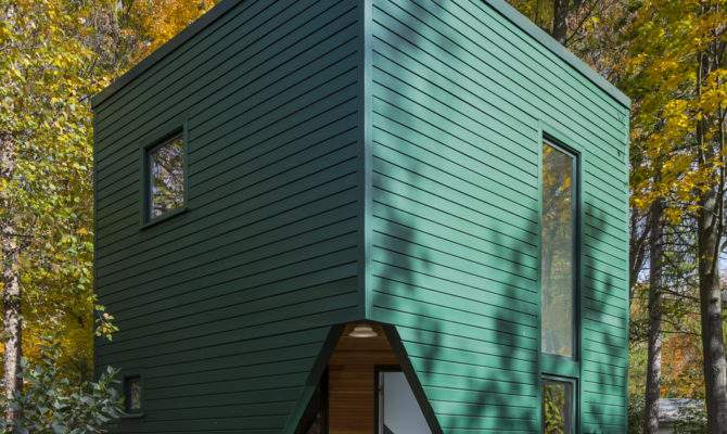 Small Energy Efficient Guest House