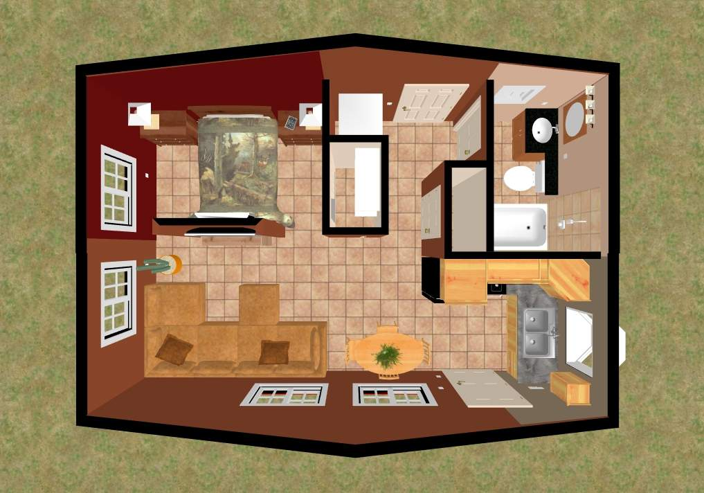 Small House Floor Plan Crested Butte Top
