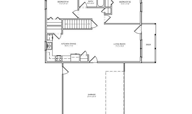 Small House Plan Bedroom Houseplan Cabin