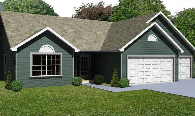 Small House Plan Bedroom Ranch