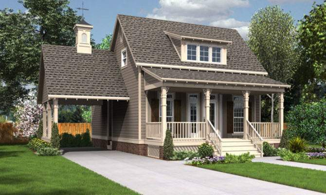 Small House Plans Award Winning Cottage