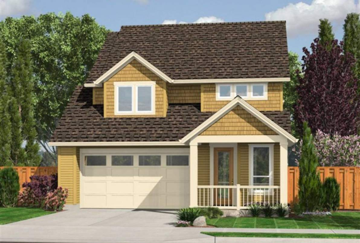 Small House Plans Garage Attached Better