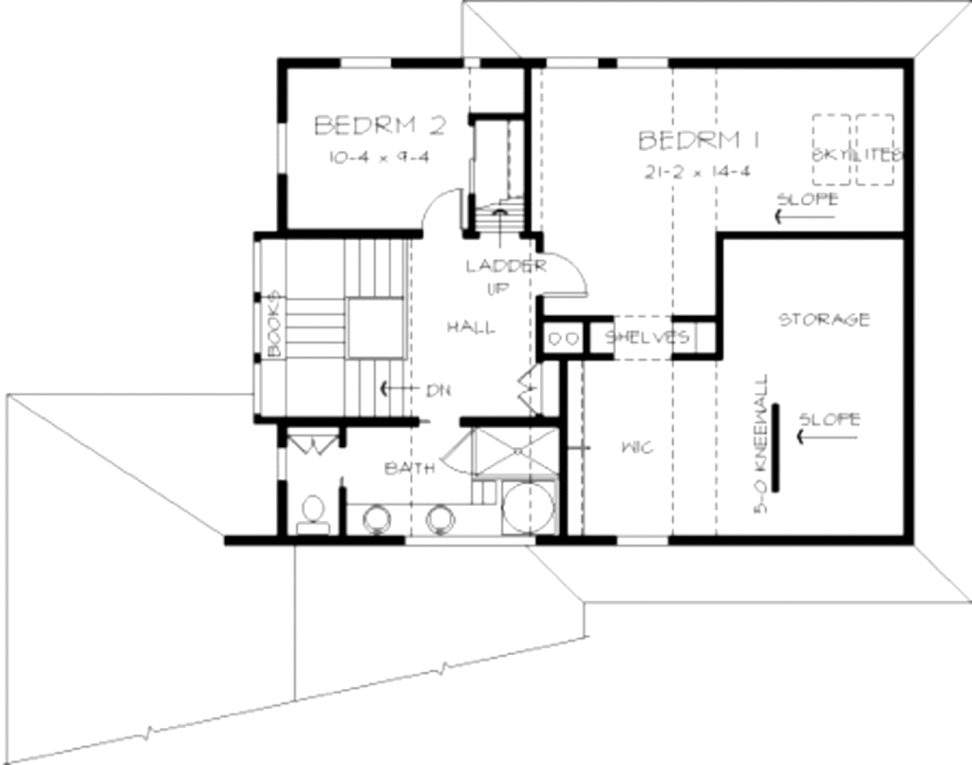 Small House Plans Slopes