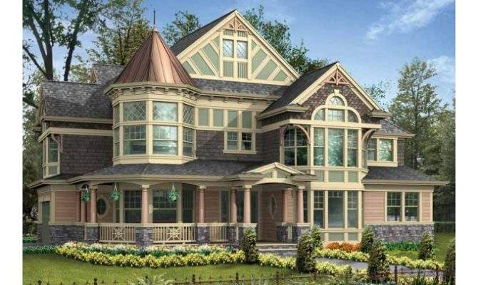 Small House Plans Turrets