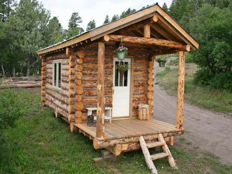 Small Log Cabin Kits Ski Hut Jalopy Cabins