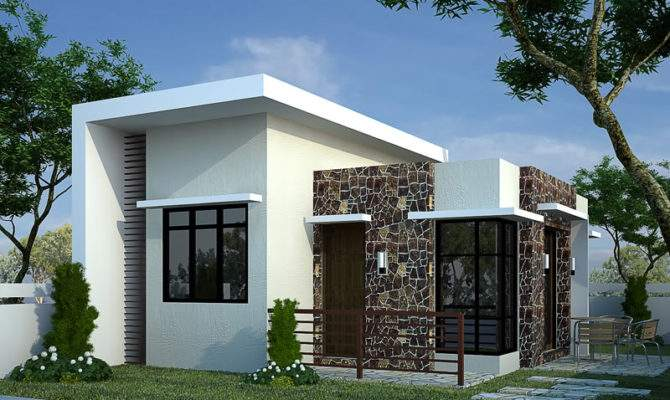 Small Modern Bungalow House Plans Guide Look Latest