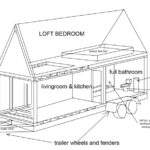 Small Modern House Coloring Pages