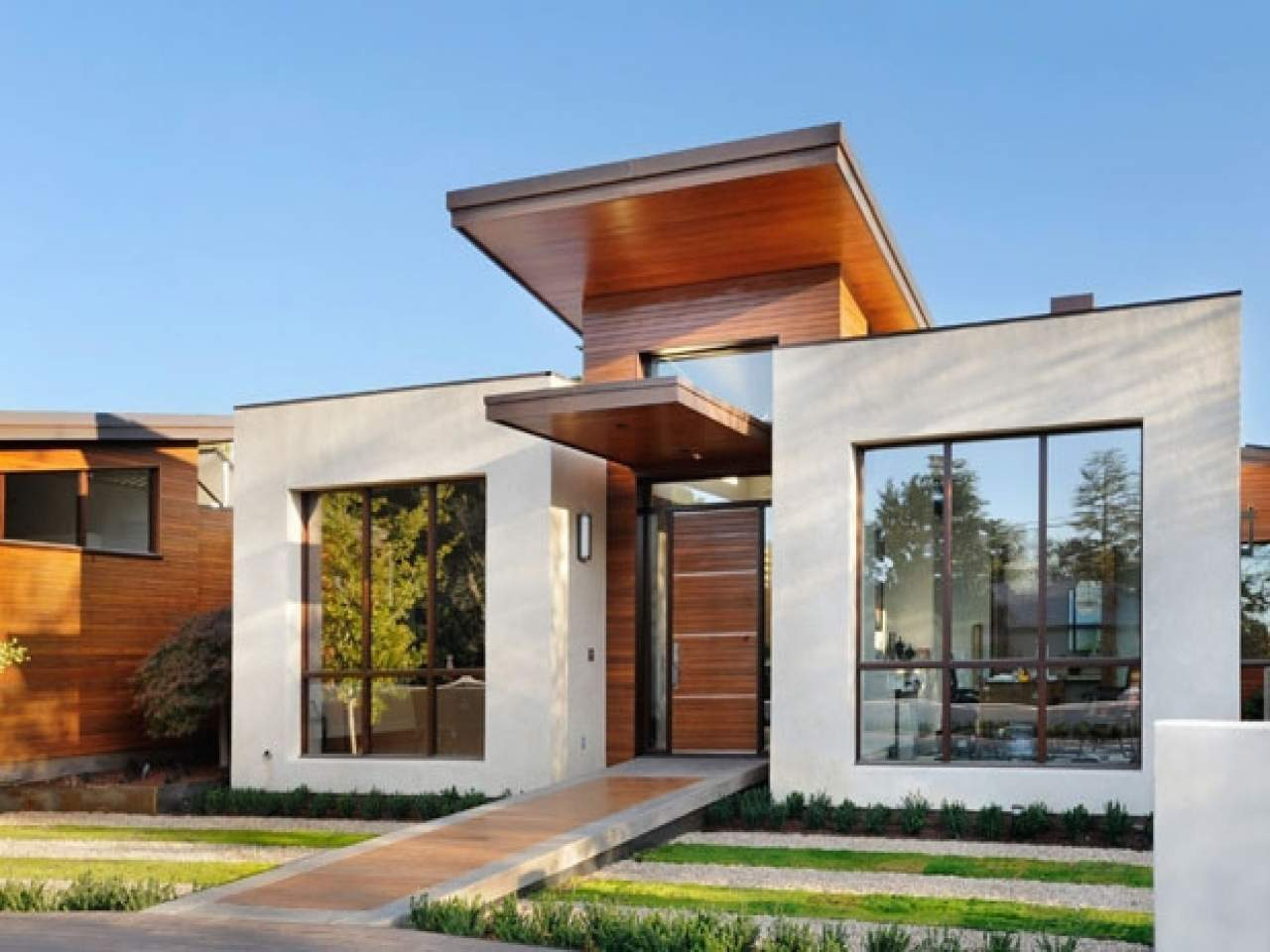 Small Modern House Plans Super Exterior