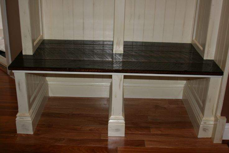 Small Mud Room Mudroom Bench Kreg Jig Owners Community
