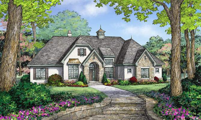 Small Old World House Plans