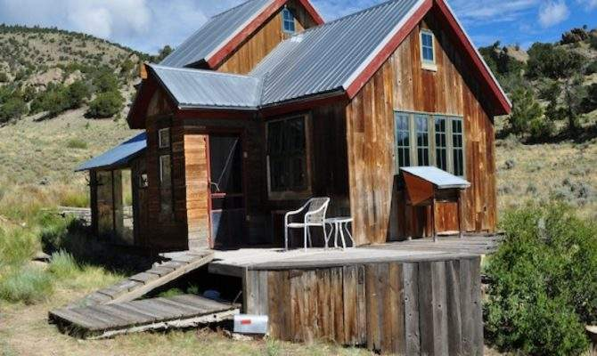 Small Rustic Mountain Cabins Basic Cabin Plans