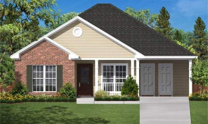 Small Traditional Home Floor Plan Three Bedrooms