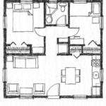 Small Two Bedroom House Plans Homes Floor