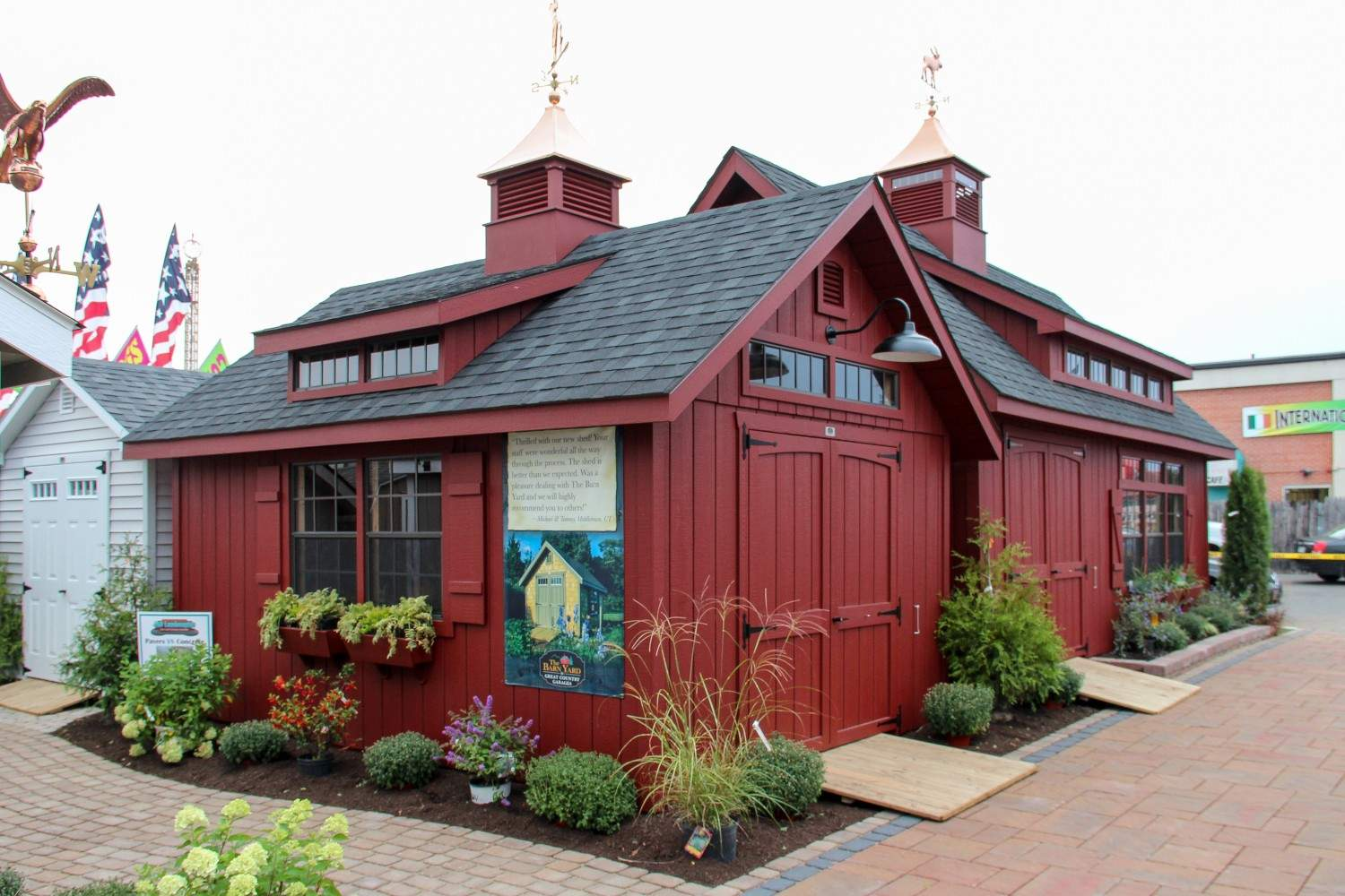 Small Victorian Carriage House Style Design