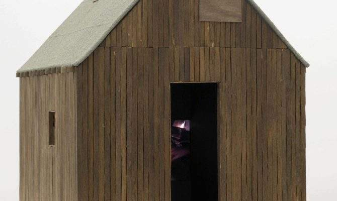 Small Wooden House Model Wikimedia Commons
