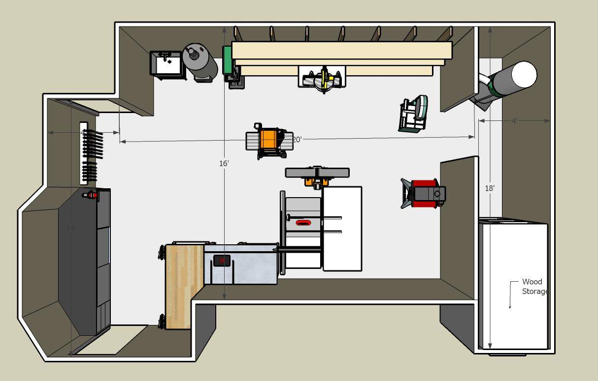 Small Woodworking Shop Plans Woodworker