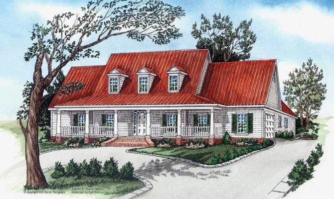 Southern Charm Architectural Designs House Plans