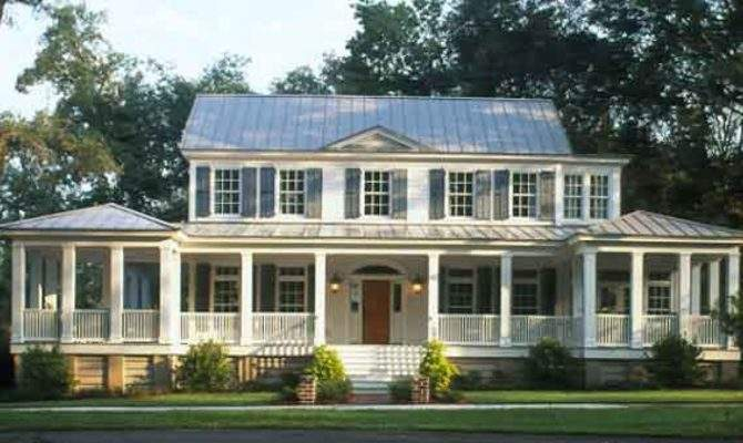 Southern Living House Plans Porches One Story
