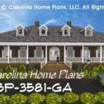 Southern Plantation Style House Plan Luxury Home