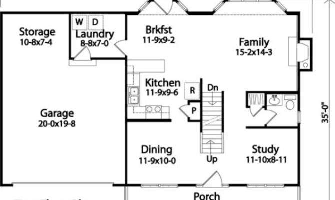 Space Saving House Plans Home Design Style