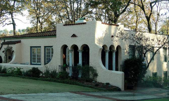 Spanish Mission Style Home Homewood Alabama Flickr