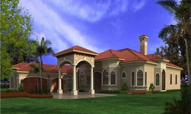 Spanish Style House Plans Plan Collection