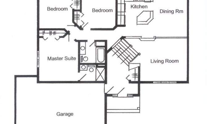 Split Foyer Floor Plans Unique House