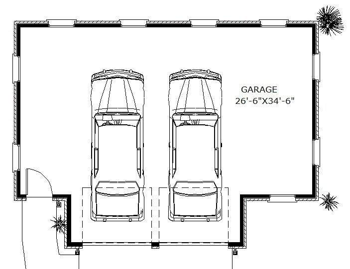Square Feet Parking Space Levels House Plan All