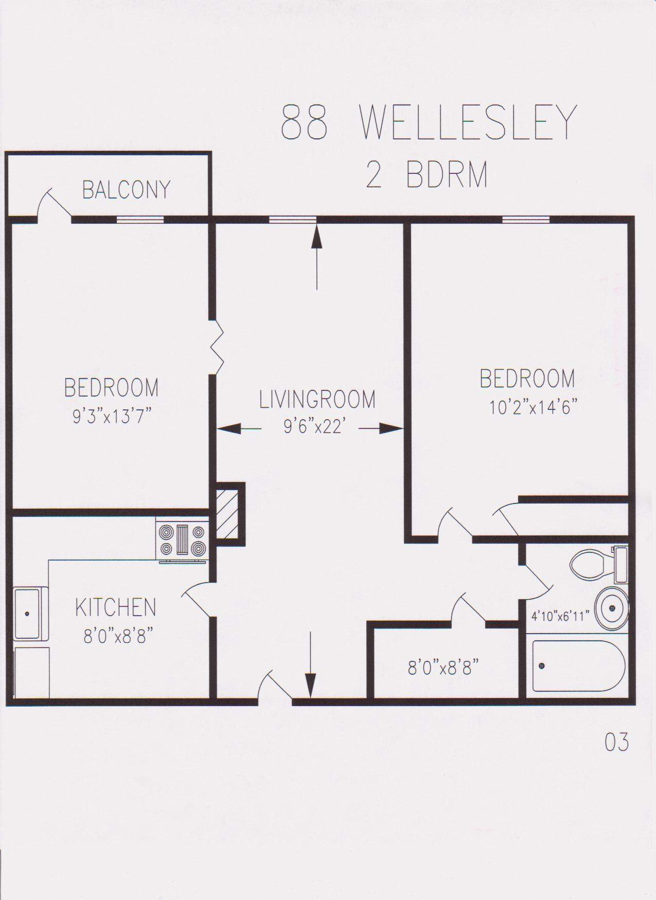 Square Foot Apartment Plans Home Deco