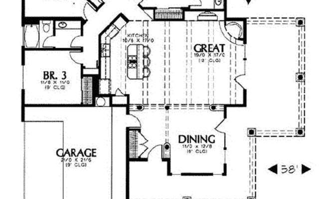 Square Foot Bungalow House Plans Home Deco