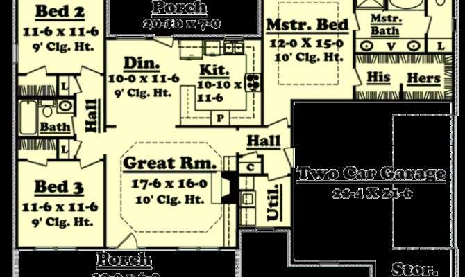 Square Foot Ranch Plans Home Deco