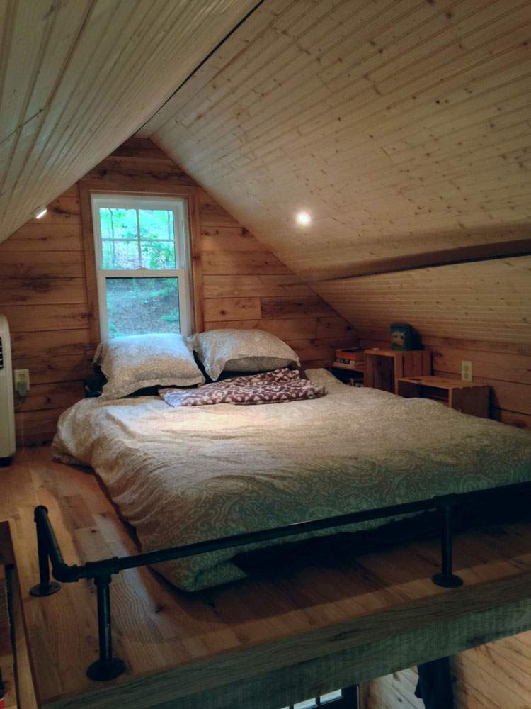 Square Foot Tiny House Open Feel
