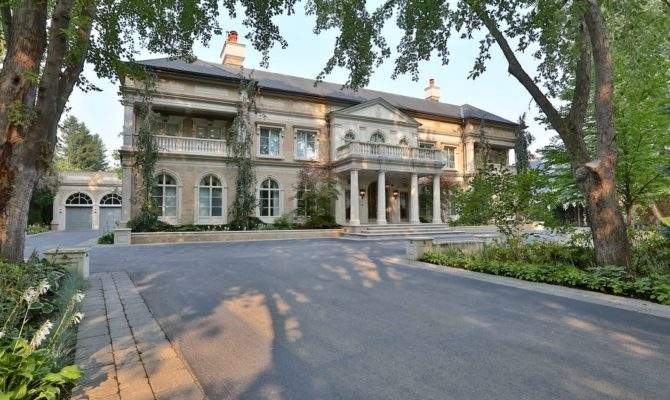 Stately Square Foot Neoclassical Stone Mega