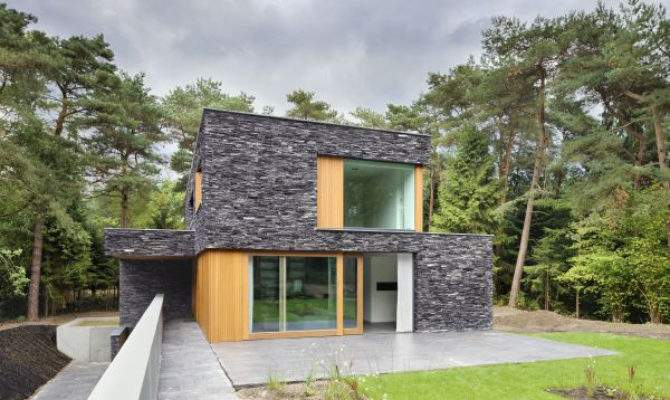 Stone House Siding Blends Beautifully Nature