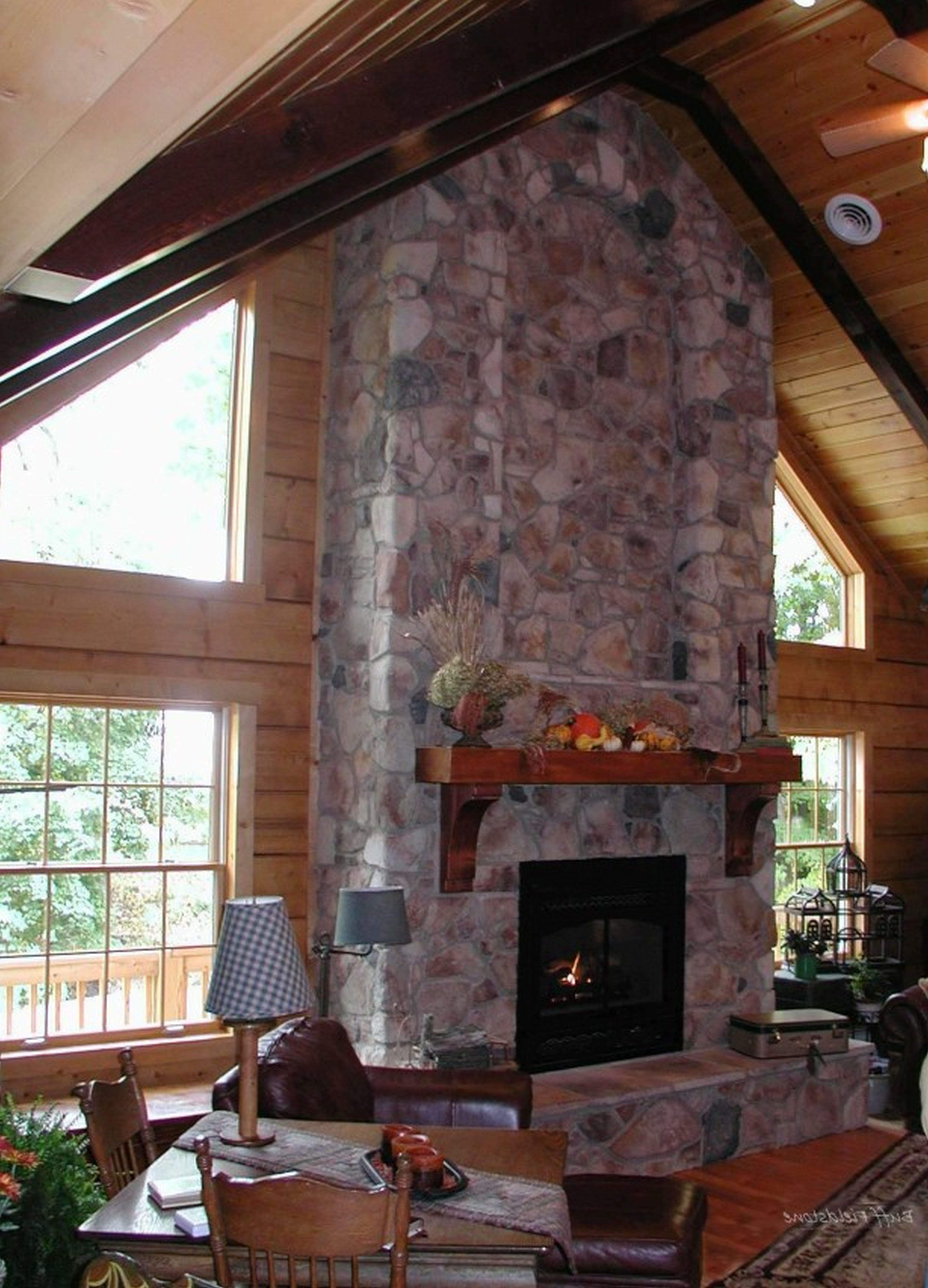 Stone Indoor Fireplaces Home Design